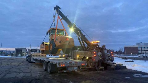 Container Crane Thunder Bay